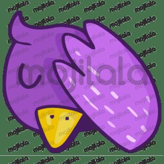 Estilo paloma elegante morada