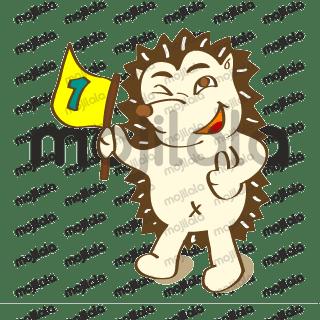 Kabbi - fun porcupine