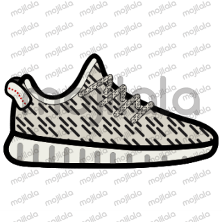 The complete Adidas Yeezy sticker pack!