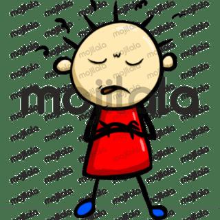 Stick Man cartoon emoji