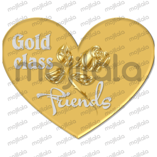 """These hearts say """"I love you"""" to friends."""