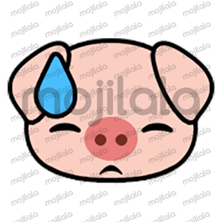 80 emojis of cute little piggy! :) Have fun with them!