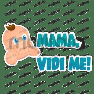Stikeri za roditelje, djedove, bake i sve one koji vole male jasličarace.
