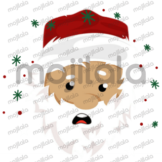 Cute Santa, elf and reindeer Christmas stickers!