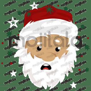 Cute Santa, elf and reindeer Christmas stickers!