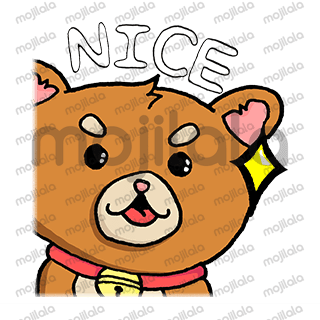 This pack includes a set of eight hand-drawn stickers featuring a cute chibi Shiba Inu.