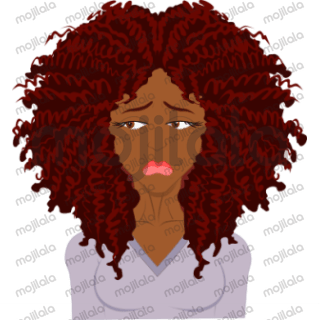 Curlmojis - RED is a sticker pack dedicated to curl enthusiasts that have red hair.