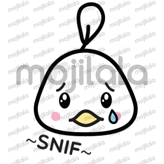 Cute & kawaii stickers with chickens! All chicks have different emotions and quotes. Happy sticker mailing!
