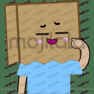 cute box face