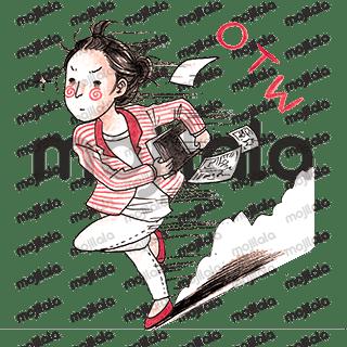 sticker for illustrator