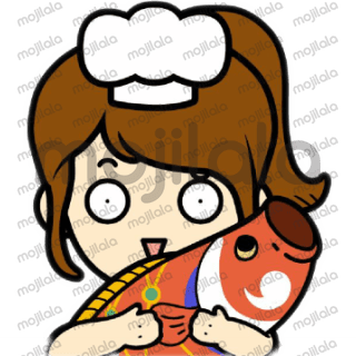 Miku is a chef, very passionate about food but sometimes a little funny:)
