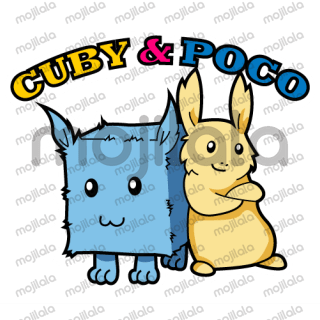 Enrich your Line stickers with the ultra cute Cuby and Poco. These stickers are family friendly and for daily use. Enjoy the fun!