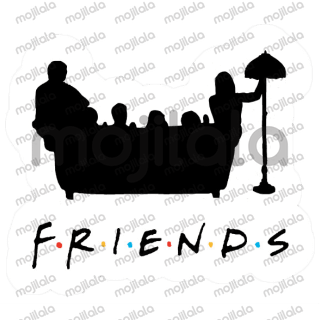 Stickers from the cult series Friends!
