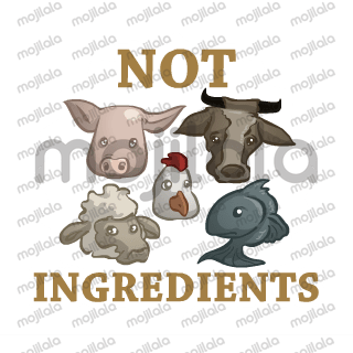 Veganism related stickers which promote cruelty free lifestyle and plant based diet...