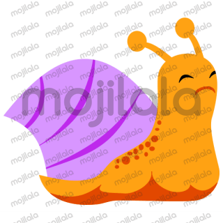 Cute, Slow Snail Stickers!