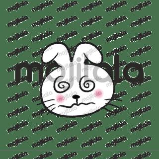 round face rabbit so cute
