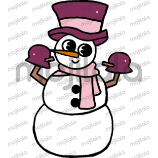 Adorable, happy snowmen with so many fun personalities and personas!