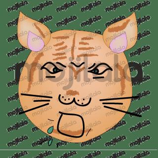 Kedi Meo Meo'nun maceraları ve çeşitli yüz ifadeleri.