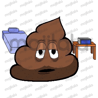 The emotions of poop.