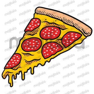 retro style stickers with striking colors
