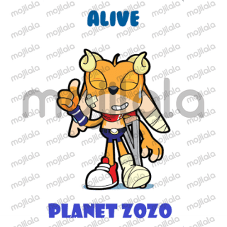 Cartoon character from planet ZOZO