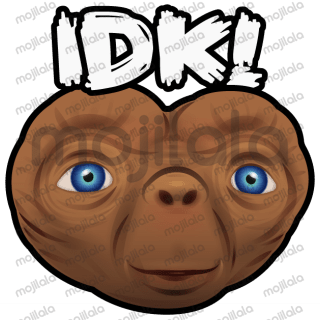Humans are boring — So say it like an alien with this illustrated sticker pack!
