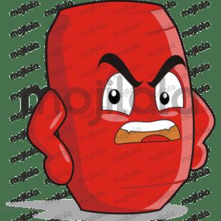Can Cartoon Sticker emoji