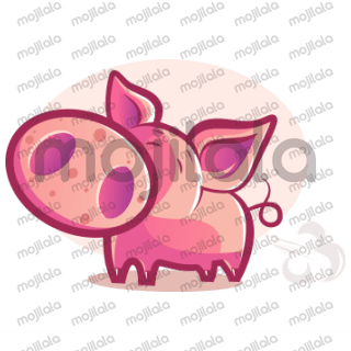This is Mister Piggy. He is a cute little adorable Pig. Know him more and make him a part of your day to day chat conversations.