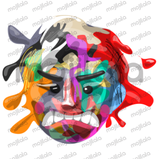 express your emotions with emoticons art