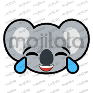80 emojis of cute little koala! :) Have fun with them!