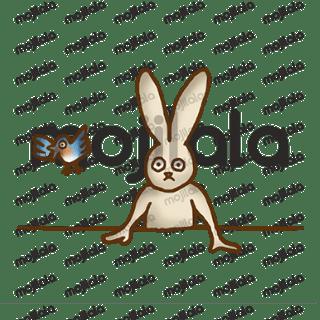 Say it with a curious usagi bunny, Bitt!