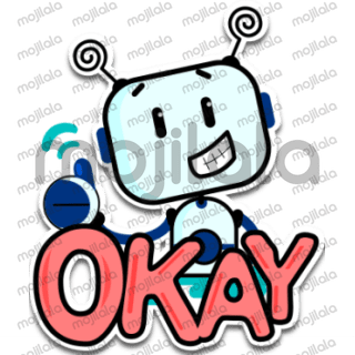 Cute and lovely little robot stickers for daily usage. More sticker, more fun.