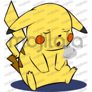Pikachu Stickers