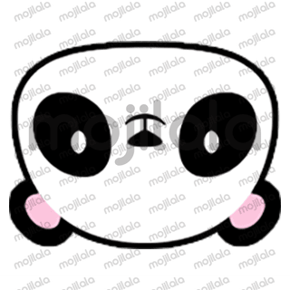 80 emojis of cute little panda! :) Have fun with them!
