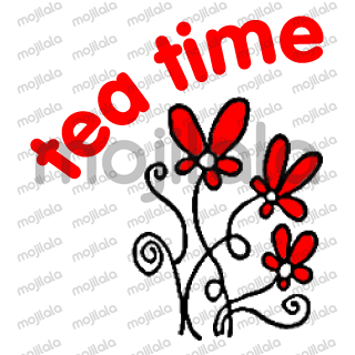 Beautiful Red Flower Blessing