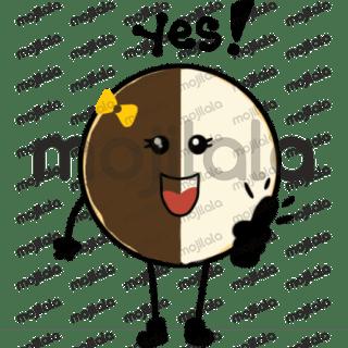 Cute cookie stickers