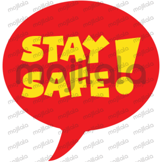 show your support for safety and masks with this sticker pack