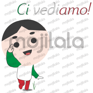 Learn everyday used phrases in Italian quickly! This will help you speak Italian in no time. Check out our other sticker packs for more languages!