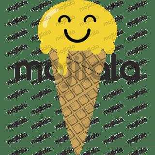 Emoji ice creams