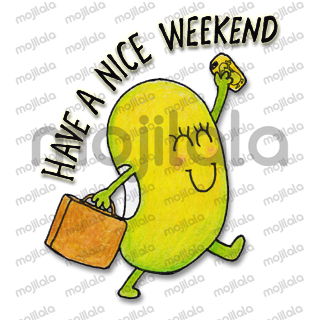 Bean turning everyday communication into a wonderful little story!  Keep your eyes open for new Bean Happy stickers coming soon!