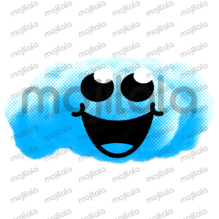 Billy the Cloud can be funny, sad, angry, disappointed, quiet...