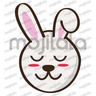 Rabbit emoticons, Bunny