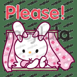 pink rabbit princess story