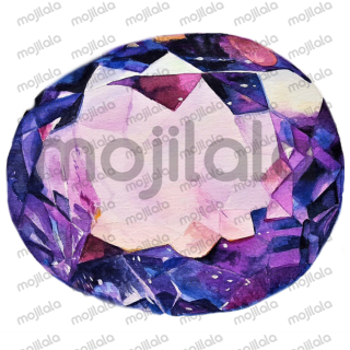 Beautiful collection of crystals and gemstone stickers.