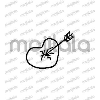 black and white cartoon emoji