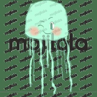 Cute Jellyfish emoticon