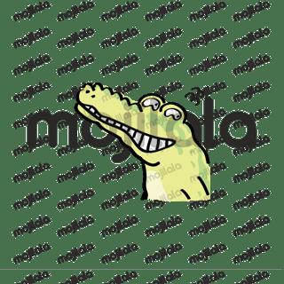 Crocodile and chicken so cute