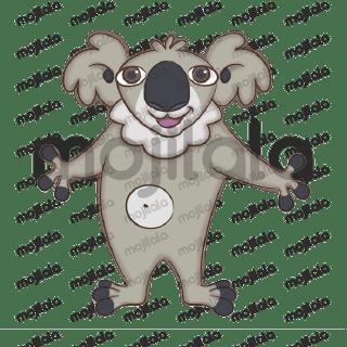 Australia's iconic Koala stickers Pack