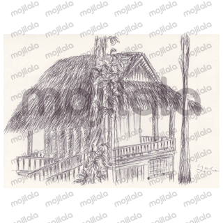 Ballpen drawings from the trip in Laos :D