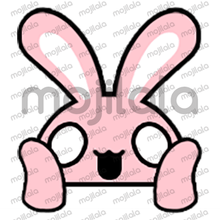 80 emojis of cute little rabbit! :) Have fun with them!